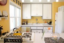 Kitchen Update! / Planning a grey and yellow kitchen...hopefully in 2015!