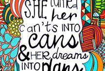 Inspiration  / Quotes & Encouraging sayings