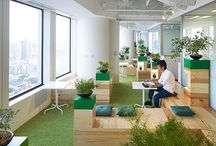 Coworking Spaces / Interesting multi-function offices