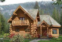 ahşap ve taş dag evleri