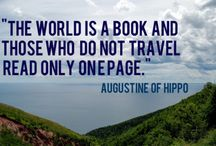 Travel Quotes / Quotes to inspire