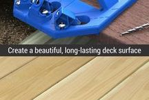 deck tool and ideas