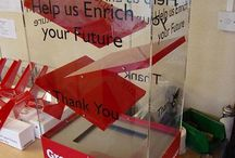 Interactive Donation Boxes