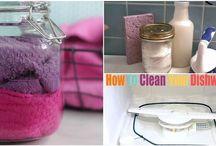 Sprzątanie, mycie, itd.