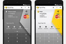 HoneyPay / Mobile pay app designs