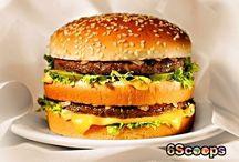 Yum fast food. ( like mc d and bk )