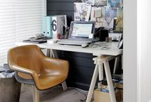 Small Home Office Ideas / by Stylish Eve