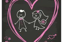 ilustraciones / ilustraciones relacionadas con joyeria, bodas y compromisos