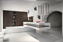Kitchen and tables
