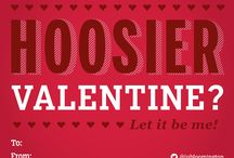 "Hoosier Valentines / Nothing says ""True Love"" like these Indiana University-themed Valentine's Day cards! / by Indiana University"