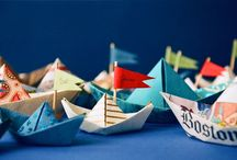Paper Boats ! / Colour , paper , inspiration boats