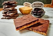 Chocolate Crisp Bars / Crisp brown rice bars with Askinosie 72% dark chocolate.  Fillings vary.    Certified: gluten-free, kosher parve, organic, vegan