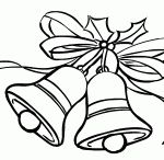 Christmas bells coloring pages / Chrsitmas holy bell coloring pages,printable colouring pages