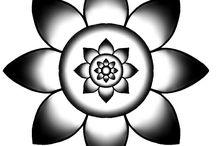 my mandalas / mandalas, healing mandalas, chakra mandala, mandala