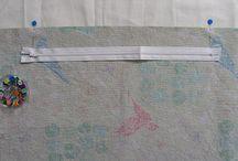 Isætning af lynlås  How to insert zippers