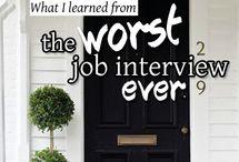 Job interviews tips & clothes!