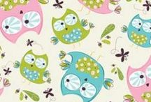 Whoo's Cute Flannel Fabric By Camelot - Discoverfabric.com / Flannel fabric on sale at discoverfabric.com