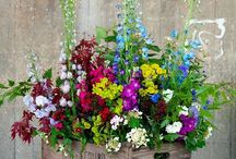 container gardening for wedding