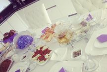 High tea / High tea table
