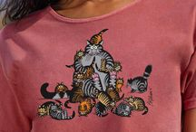 Women's Kliban Cat Collection / The beloved Kliban Cat first appeared on a Crazy Shirt in 1977 and a star was born! In the decades since, Kliban Cat's popularity has continued to grow. The many playful, occasionally irreverent images combined with Crazy Shirts' world-famous T-shirts create the perfect match. With a fanatical dedication to creativity and quality, Kliban Cat and Crazy Shirts have grown up together. / by Crazy Shirts