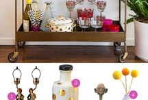 Home: Bar Cart / by A Designer At Home