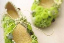 Blomster sko