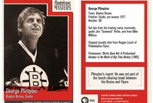 "George Plimpton Trading Cards / In celebration of the May 16th premiere of ""Plimpton! Starring George Plimpton as Himself"" on PBS American Masters, a series of trading cards that capture Paris Review's founding editor George Plimpton in his various guises and pay tribute to his storied career."