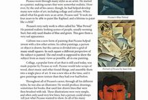 art lessons: famous artist info / by Alice Campbell