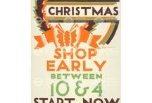 Christmas In London - Vintage / Things we love - good design with cheer! www.pembertonandmilner.com