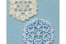 Beading - Xmas stars/ snowflakes
