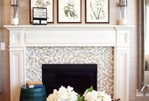 Above The Fire / Fireplace wall ideas