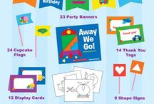 """Boy"" Party Ideas / ""Boy"" party ideas that little girls may also like ;)"