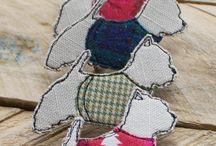 textilní brože