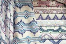 Monks cloth weaving / Monks cloth