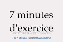 7 minutes entraînement
