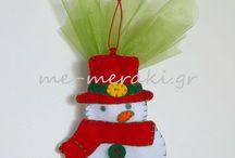 Μπομπονιέρες βάπτισης χριστουγεννιάτικα στολίδια / Handmade mpomponiera for christening. Μπομπονιέρες βάπτισης, ξεχωριστές, ιδιαίτερες δημιουργίες, όλες χειροποίητες φτιαγμένες με αγάπη και Με Μεράκι... Μπομπονιέρες βάπτισης χριστουγεννιάτικα στολίδια. Ιστοσελίδα www.me-meraki.gr
