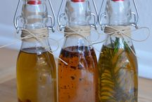 DIY homemade infused oils and extracts