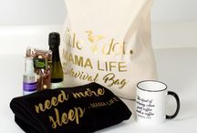 Ideas for gifts for mothers / Tips and ideas for gifts for new mums and mothers. Gifts for her. Gifts for mums. Gifts for mothers. Presents for mums. Presents for her. Funny tote bags.