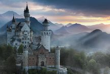Neuschwanstein / #Neuschwanstein.A castle like a fairytale. Famous all over the world.