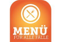 Menü für alle Fälle / Menü für alle Fälle - Rezeptideen für Menüs zu verschiedenen Anlässen von Koch Oliver Hoffinger und Foodbloggerin cookingCatrin