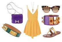 Purple / Fashion in the color Purple.