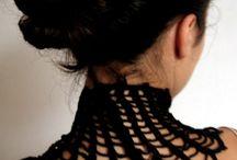 Collars / cuellos/collars handmade
