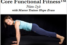 My Favorite Mind-Body Fitness Equiptment & Products / My Fav products for yoga, core fitness & tons of other great activities! / by Hope Zvara