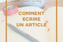 Débuter un blog