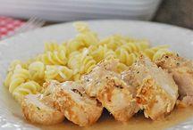 Poulet au parmesan