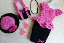 Вязанная одежда для куклы