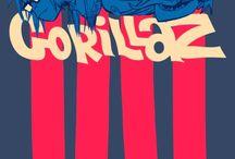 GorillaZ / My prophetic childhood has returned.