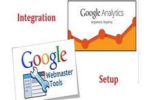 Google analytics and web master tools set up