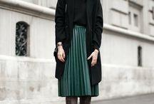 Winter' Styles / Jupes plissées