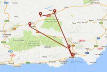 MAPAS DE RUTAS DE TURISMO ARQUEOLÓGICO Y CULTURAL / Mapas Google con rutas de turismo arqueológico y cultural realizadas por ArqueoTrip para inspiren tu propia ruta.